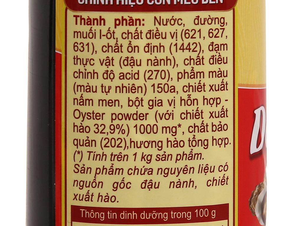 Dầu hào Nam Dương chai 615g 5