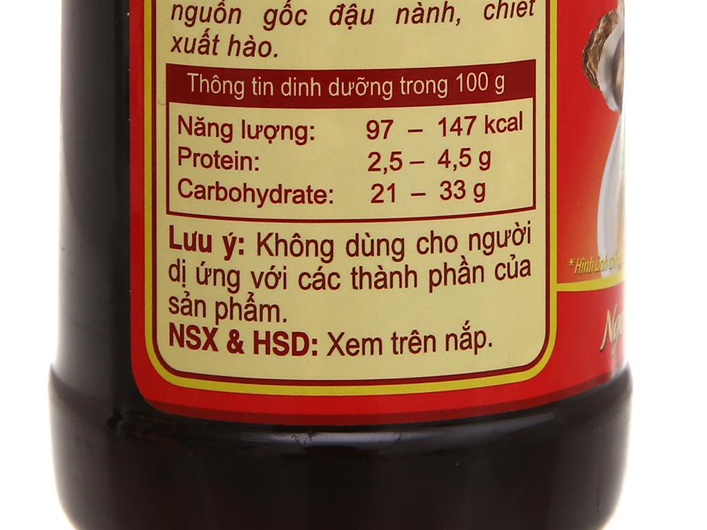 Dầu hào Nam Dương chai 615g 6