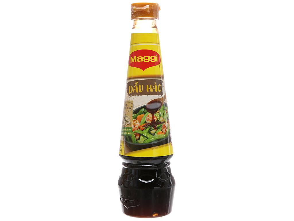 Dầu hào Maggi chai 350g 2