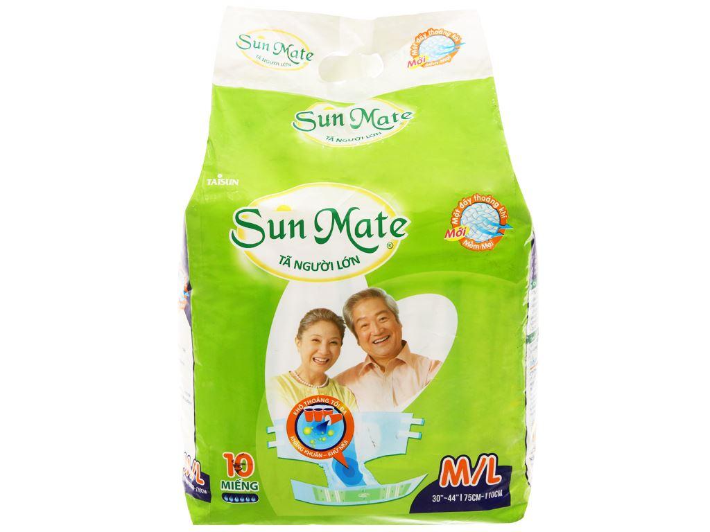 Tã dán Sunmate Size M/L 10 miếng 1