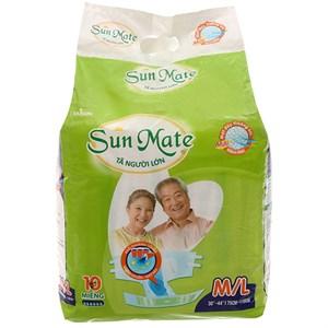 Tã dán Sunmate Size M/L 10 miếng