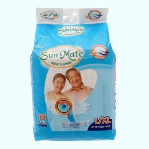 Tã dán Sunmate size L/XL 10 miếng