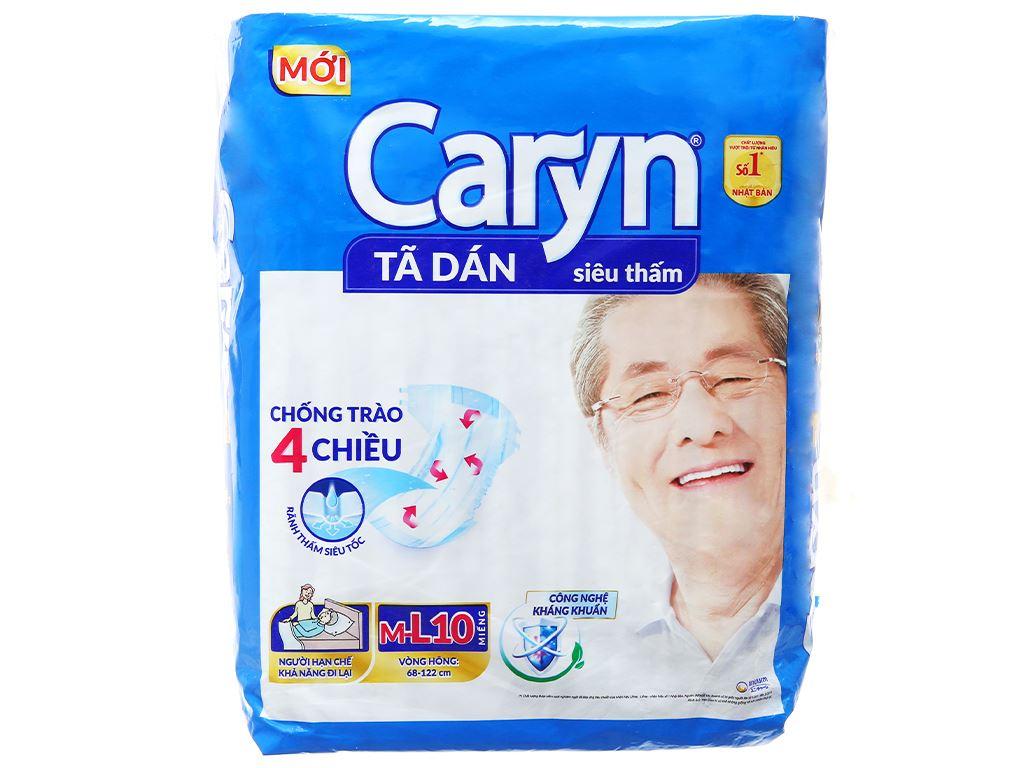 Tã dán Caryn size M/L 10 miếng 1