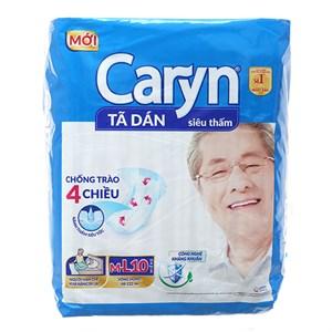 Tã dán Caryn Size M/L 10 miếng