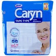 Tã dán Caryn siêu thấm cho người lớn size L 68 - 122cm (10 miếng)