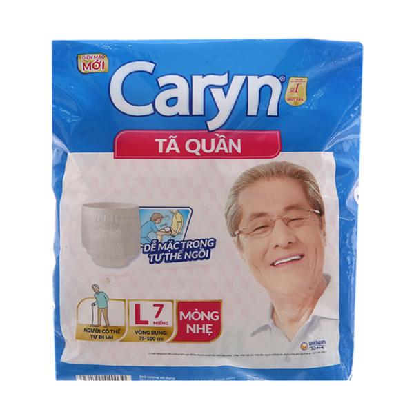 Tã quần Caryn Size L 7 miếng