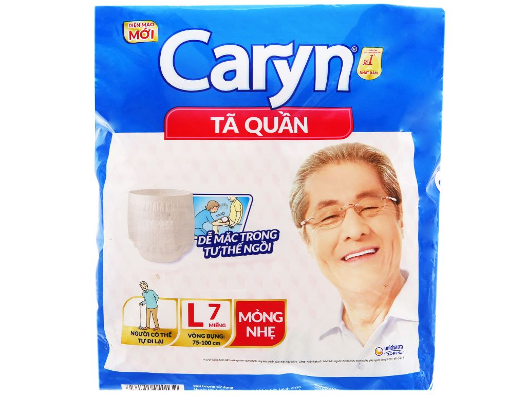 Tã quần Caryn Size L 7 miếng 1