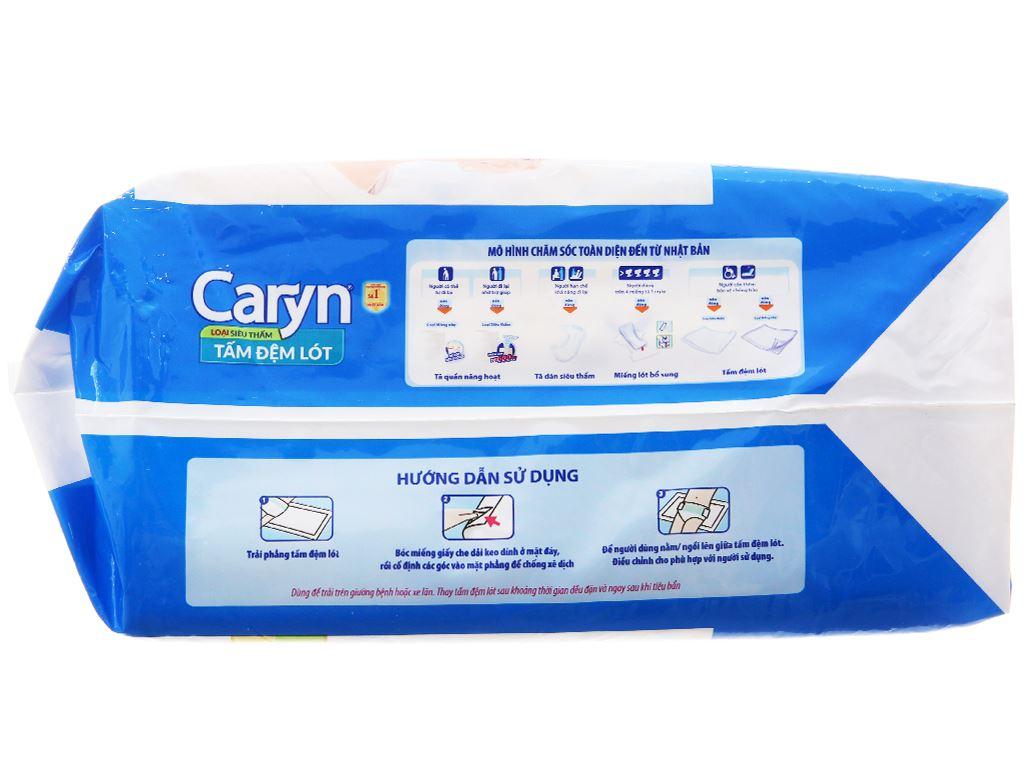 Tấm đệm lót Caryn loại siêu thấm size L 10 miếng 2