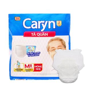 Tã quần Caryn Size M 8 miếng