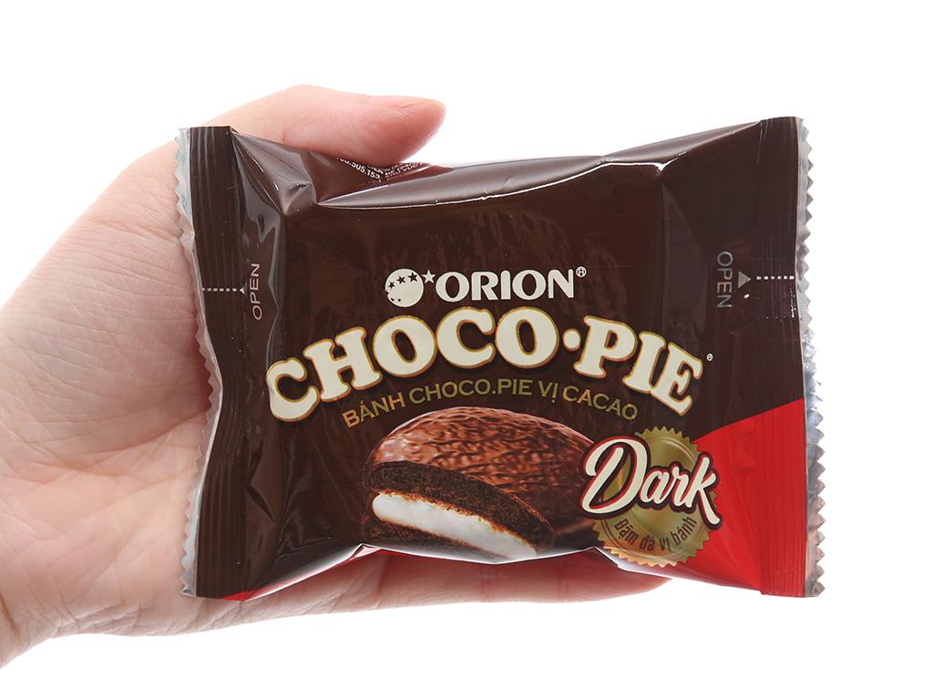 Hộp 2 bánh vị cacao Choco-pie Dark 30g 5