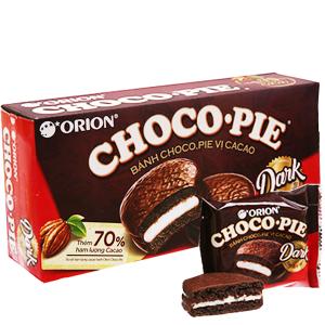 Hộp 6 bánh vị cacao Choco-pie Dark 30g
