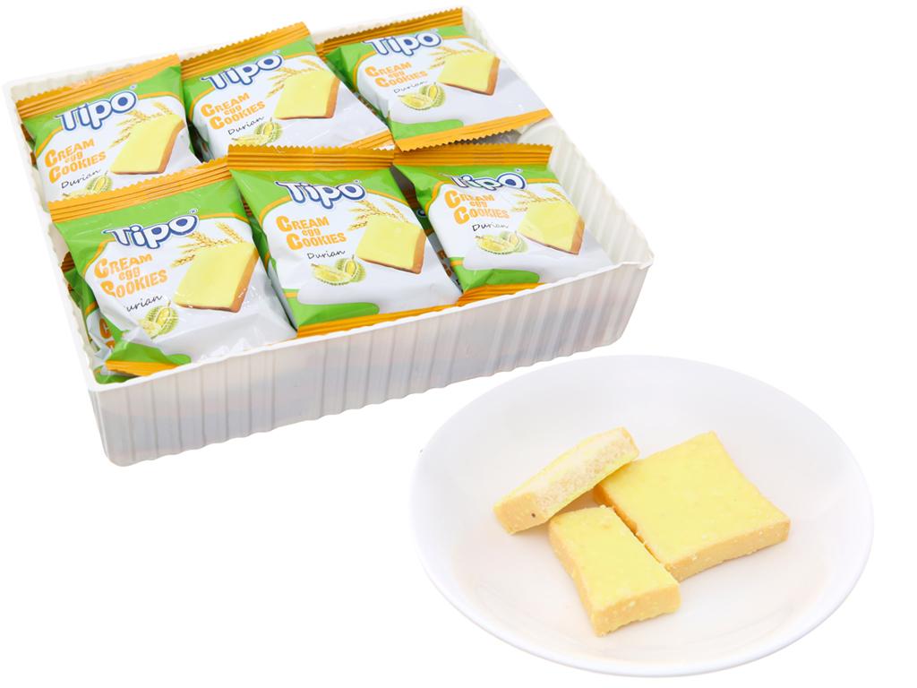 Bánh trứng kem sầu riêng Tipo gói 220g 4