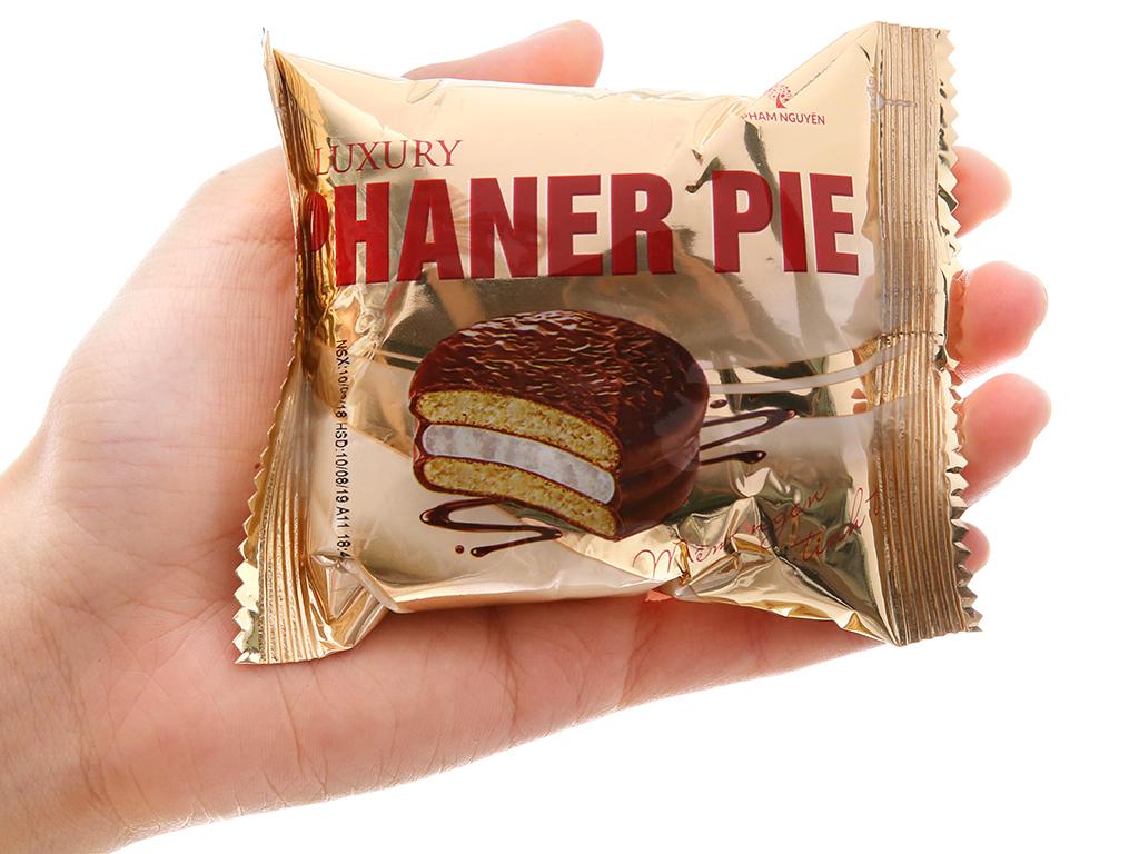 Hộp 18 bánh sô cô la kem marshmallow Phaner Pie Luxury 28g 3