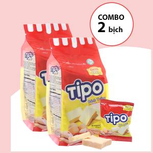 Combo 2 bịch bánh trứng Tipo trứng sữa (115g/bịch)