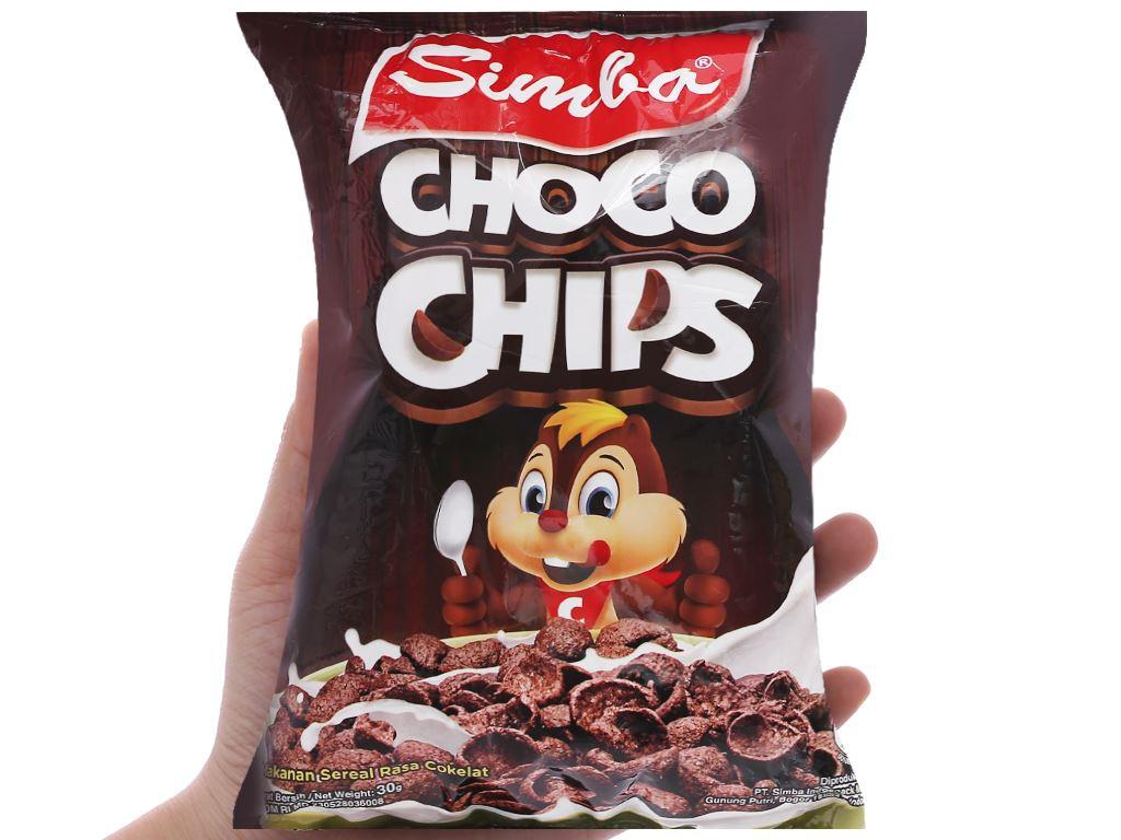 Bánh ngũ cốc Simba Choco Chips gói 30g 4