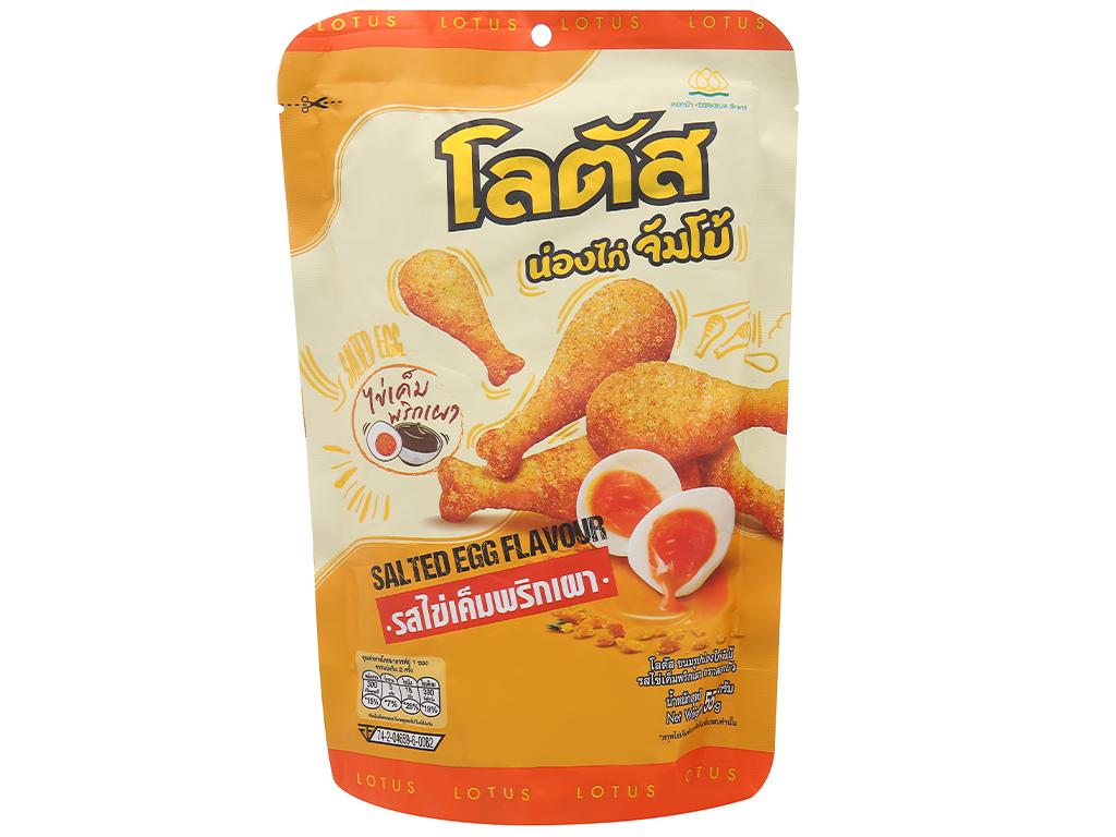 Bánh que đùi gà vị trứng muối Dorkbua gói 55g 1