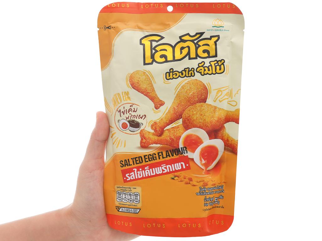 Bánh que đùi gà vị trứng muối Dorkbua gói 55g 4
