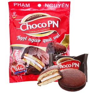 Gói 12 bánh sô cô la kem Choco P&N 18g
