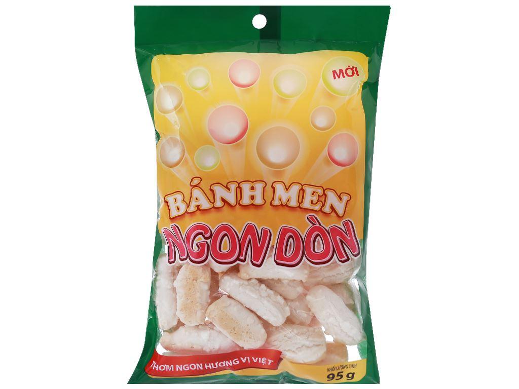 Bánh men gai Ngon Dòn Hương Việt gói 95g 5