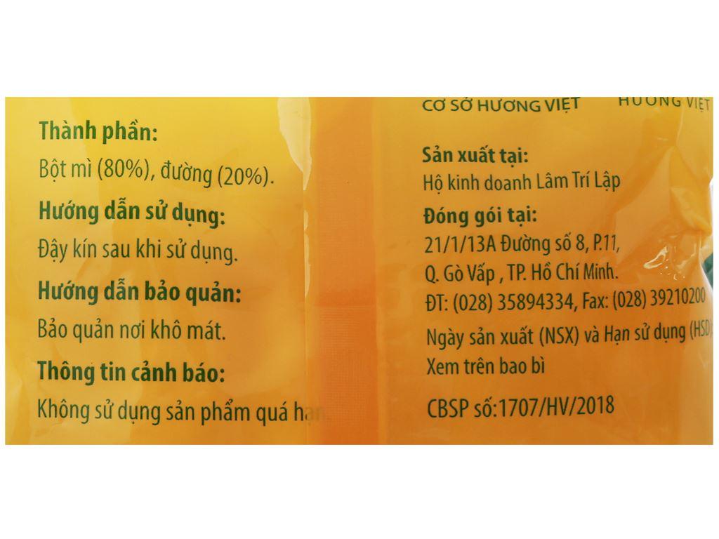 Bánh men gai Ngon Dòn Hương Việt gói 95g 7