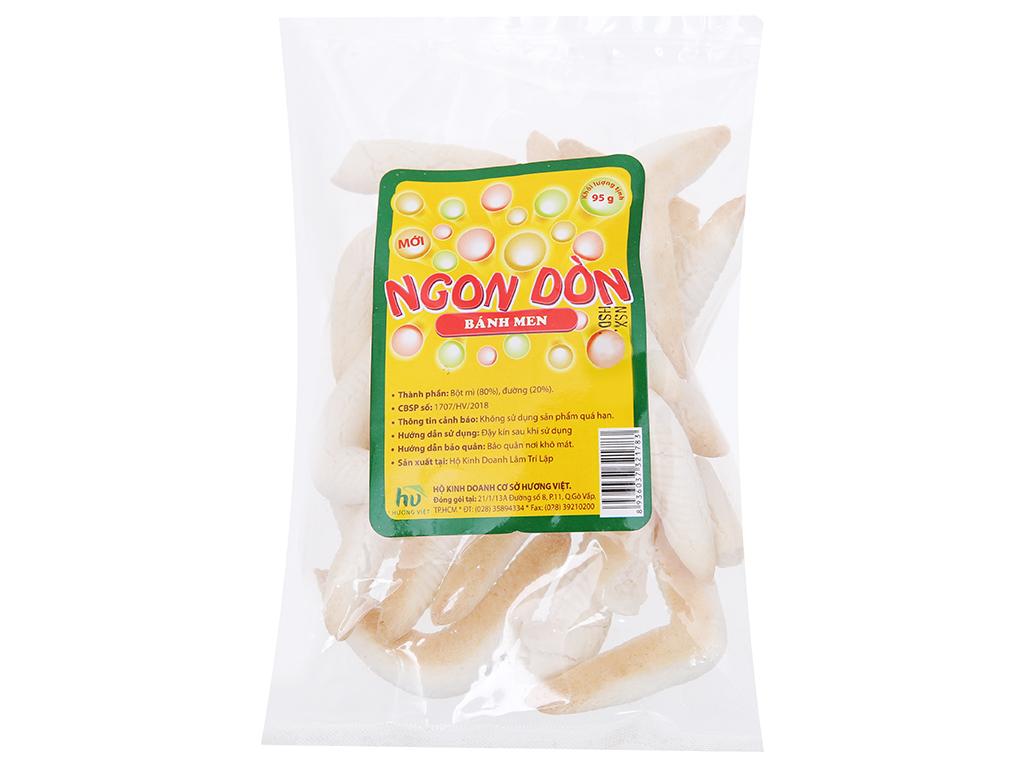 Bánh men sừng Hương Việt Ngon dòn gói 95g 1