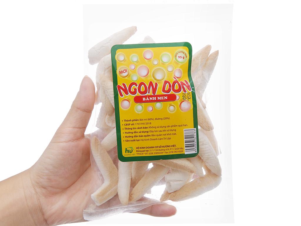 Bánh men sừng Hương Việt Ngon dòn gói 95g 5