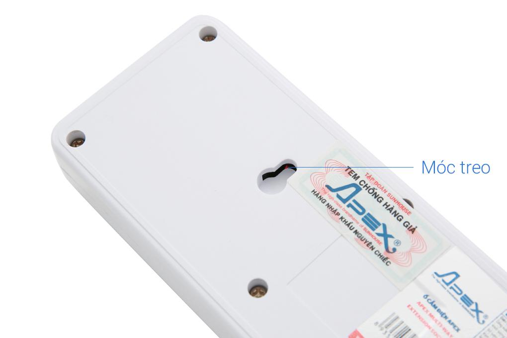Móc treo tiện bảo quản - Ổ cắm điện Apex APE OC2-3R