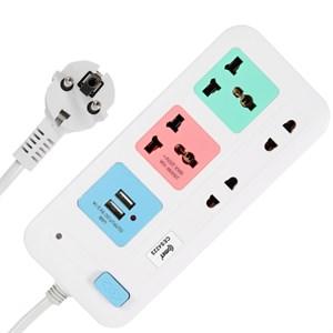 Ổ cắm điện 2 USB 4 lỗ 3m COMET CES4223
