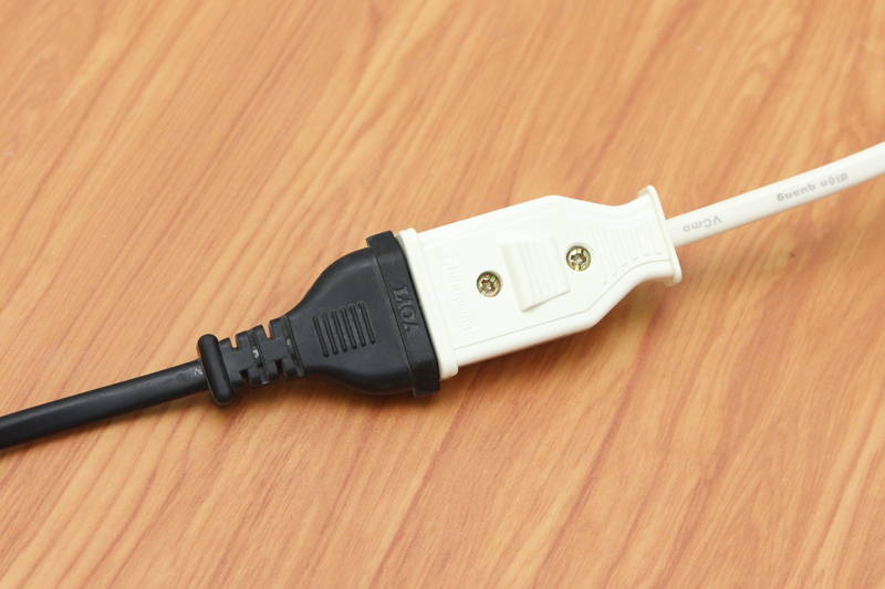 Công suất điện áp phù hợp nhiều lại thiết bị - Cáp điện nối dài 5m Điện Quang 2PN Trắng