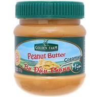Bơ đậu phộng mịn Golden Farm hũ 170g