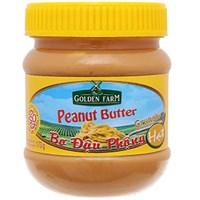 Bơ đậu phộng hạt Golden Farm hũ 170g