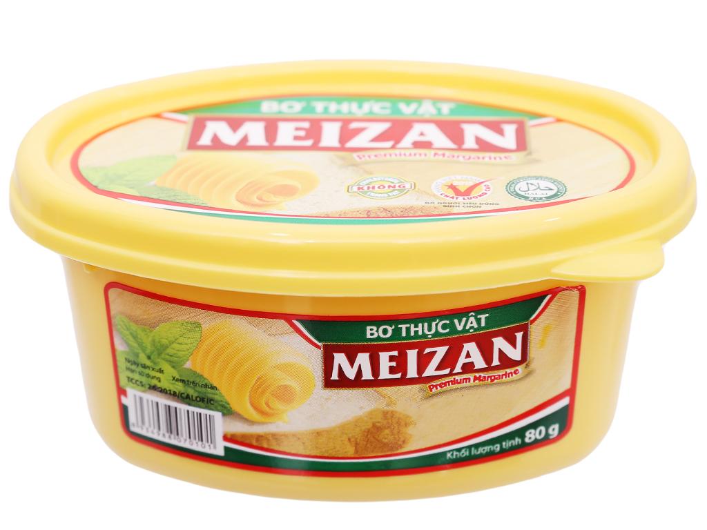 Bơ thực vật Meizan hũ 80g 2