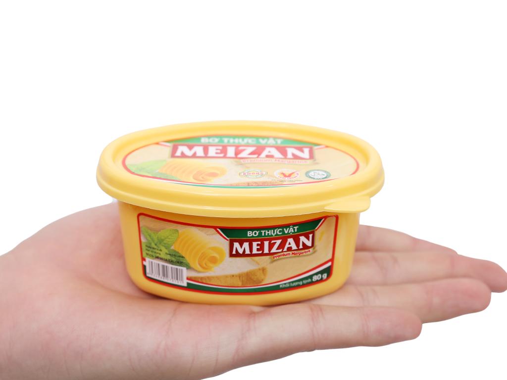 Bơ thực vật Meizan hũ 80g 5