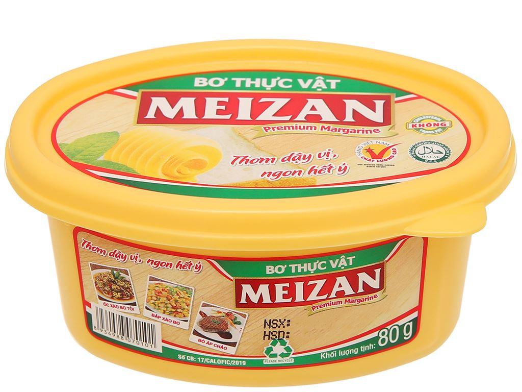 Bơ thực vật Meizan hũ 80g 7