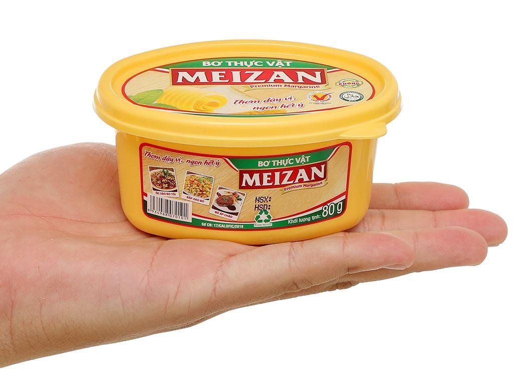 Bơ thực vật Meizan hũ 80g 10