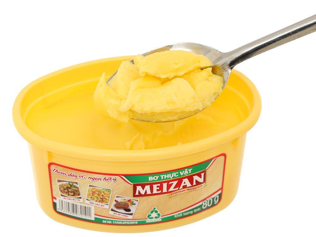 Bơ thực vật Meizan hũ 80g 11