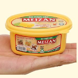 Bơ thực vật Meizan hũ 80g
