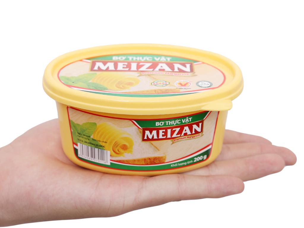 Bơ thực vật Meizan hũ 200g 5