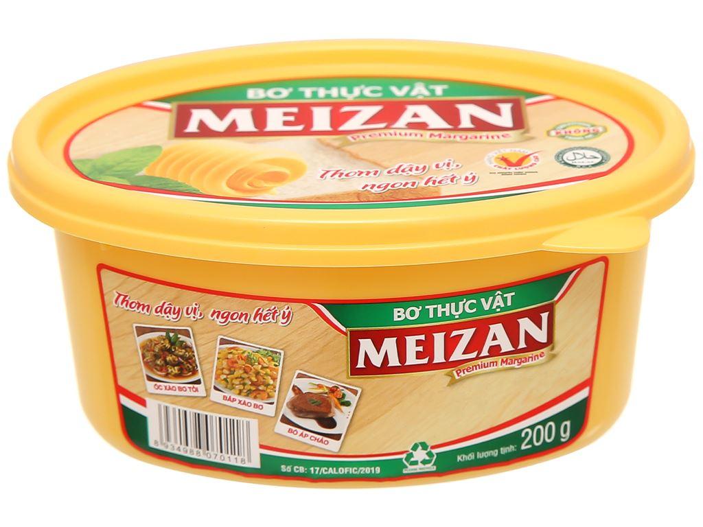 Bơ thực vật Meizan hũ 200g 1