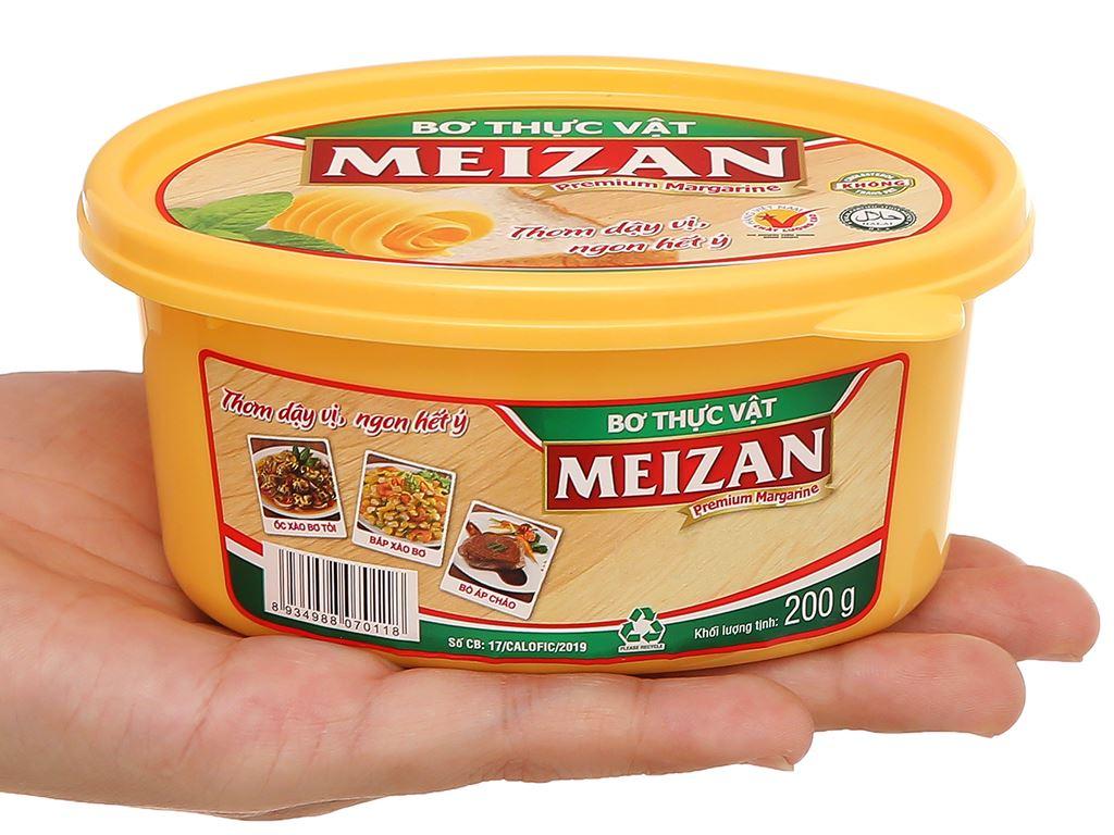 Bơ thực vật Meizan hũ 200g 4