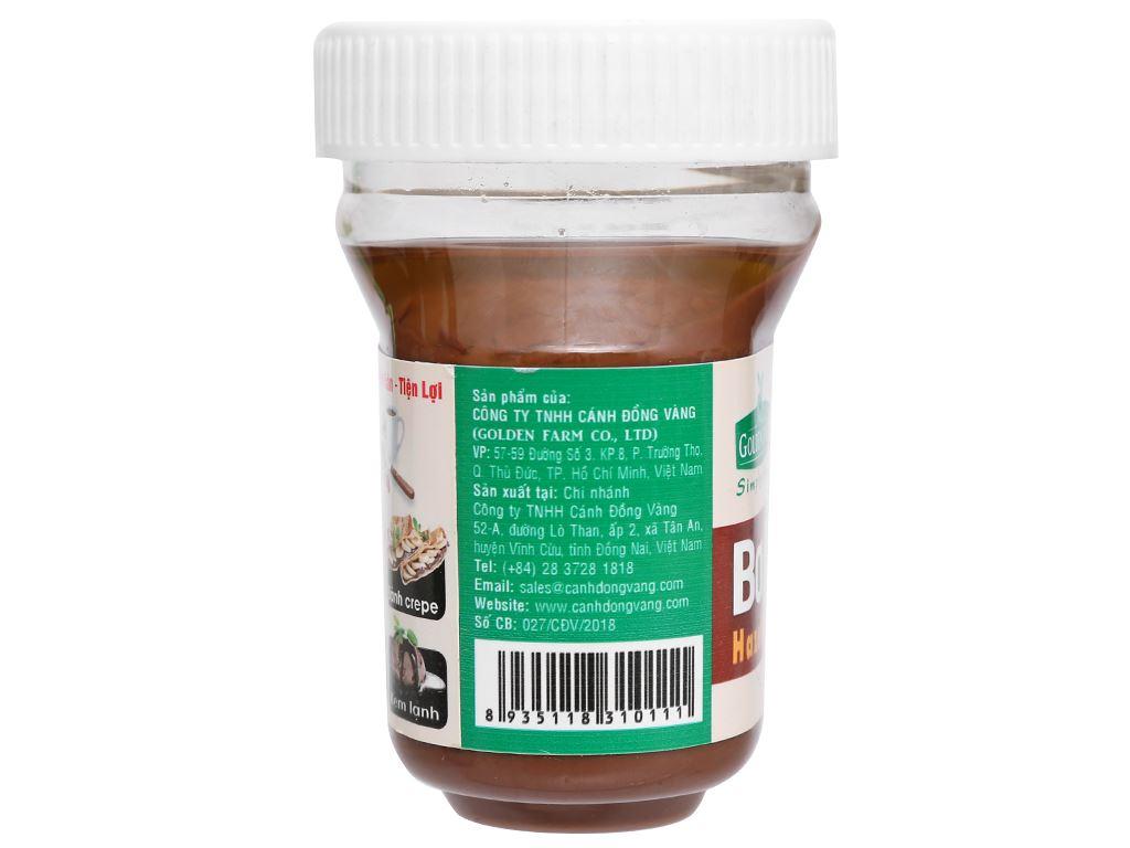 Bơ hạt phỉ cacao Golden Farm hũ 170g 4
