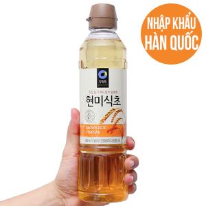Giấm gạo lứt Chung Jung One chai 500ml