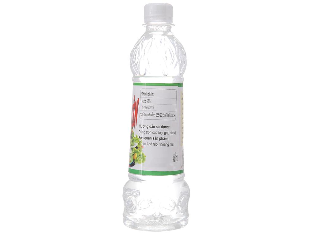 Giấm tinh luyện A Tuấn Khang chai 500ml 2