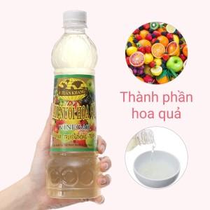 Giấm nuôi hoa quả A Tuấn Khang chai 500ml