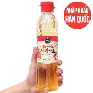 Giấm táo Hàn Quốc Beksul chai 500ml