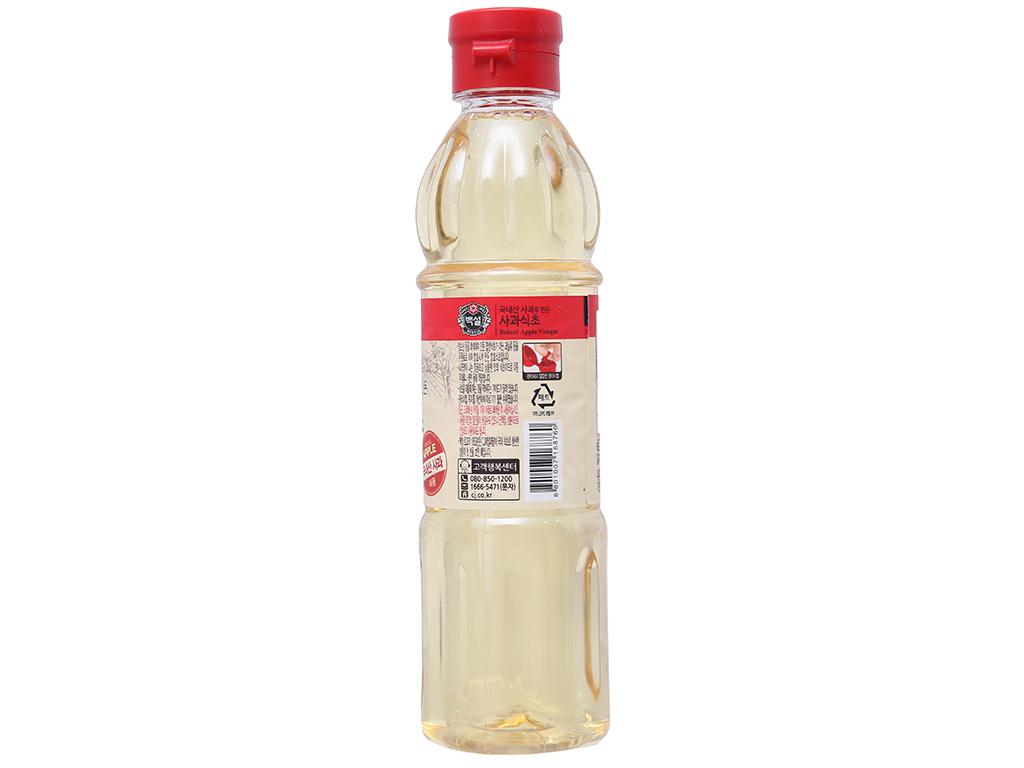 Giấm táo Hàn Quốc Beksul chai 500ml 2