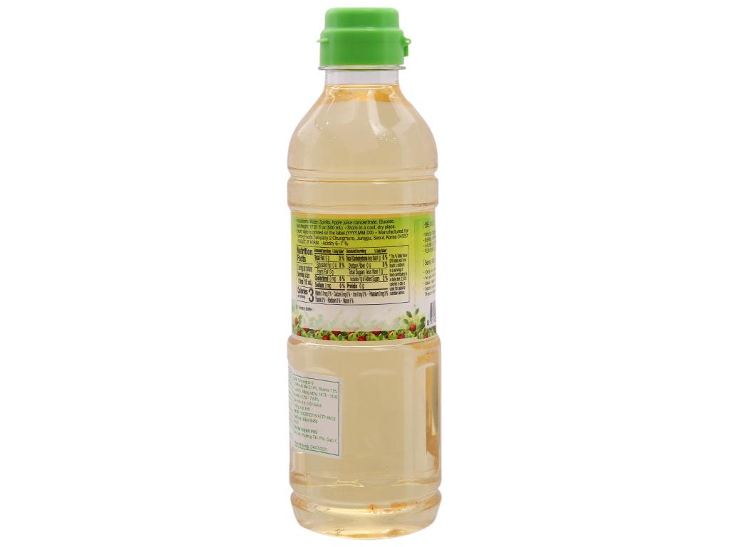 Giấm táo Hàn Quốc Sempio chai 500ml 2