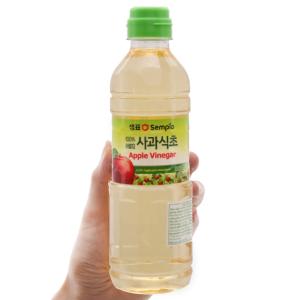 Giấm táo Hàn Quốc Sempio chai 500ml