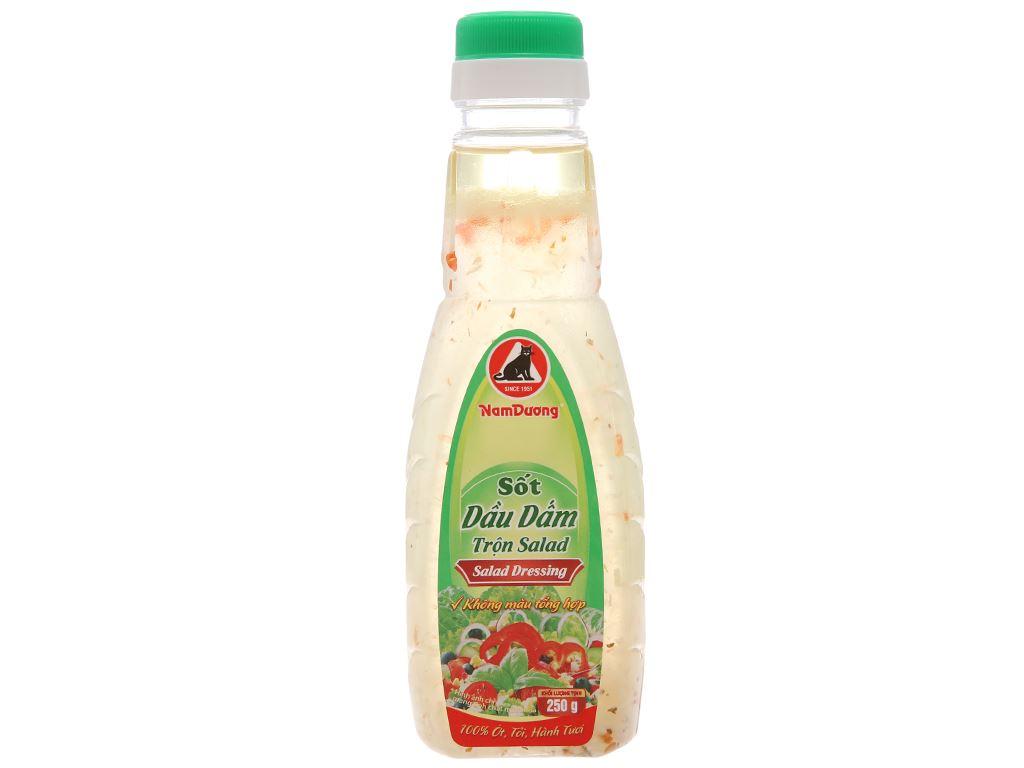 Sốt dầu dấm trộn salad Nam Dương chai 250g 1