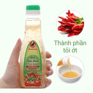 Sốt dầu dấm trộn salad Nam Dương chai 250g